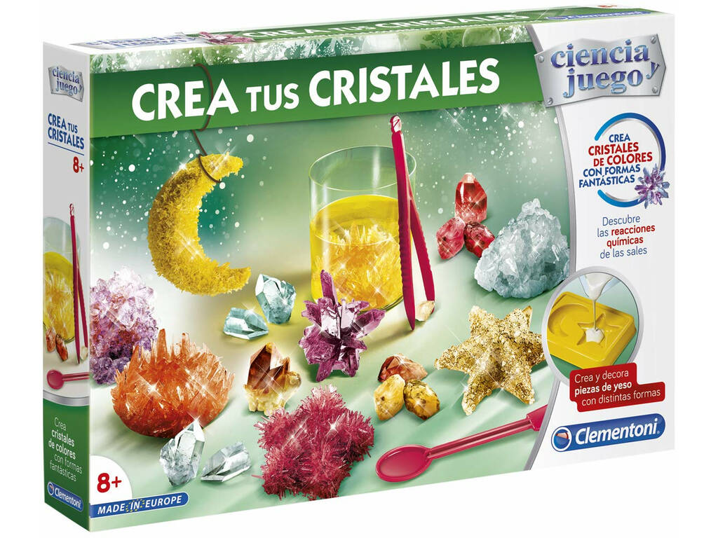 Crea I Tuoi Cristalli Clementoni 55288