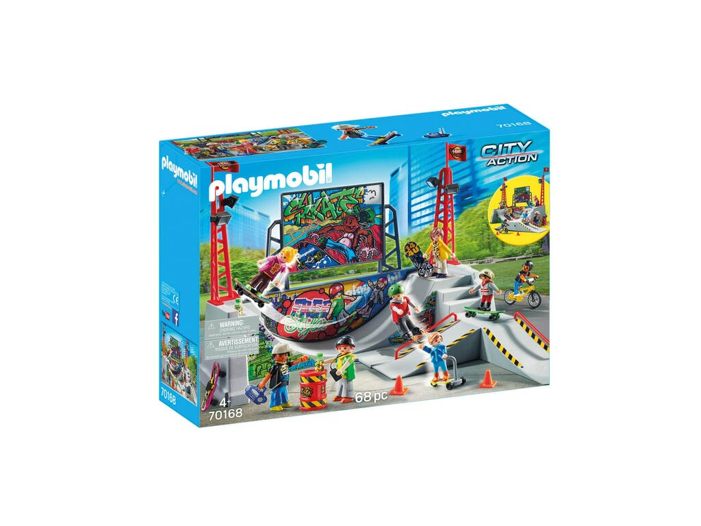 Playmobil City Action Skate 70168