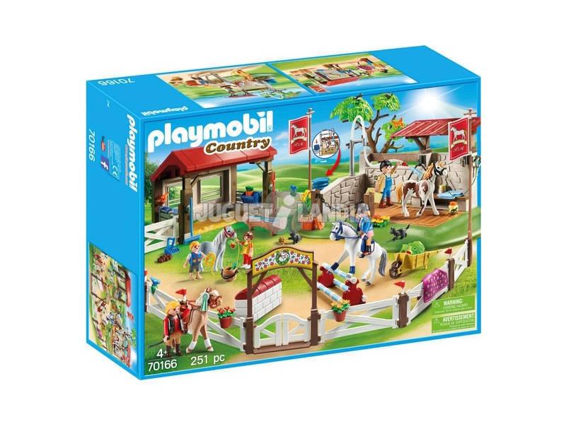 Playmobil Fazenda de Ponis 70166
