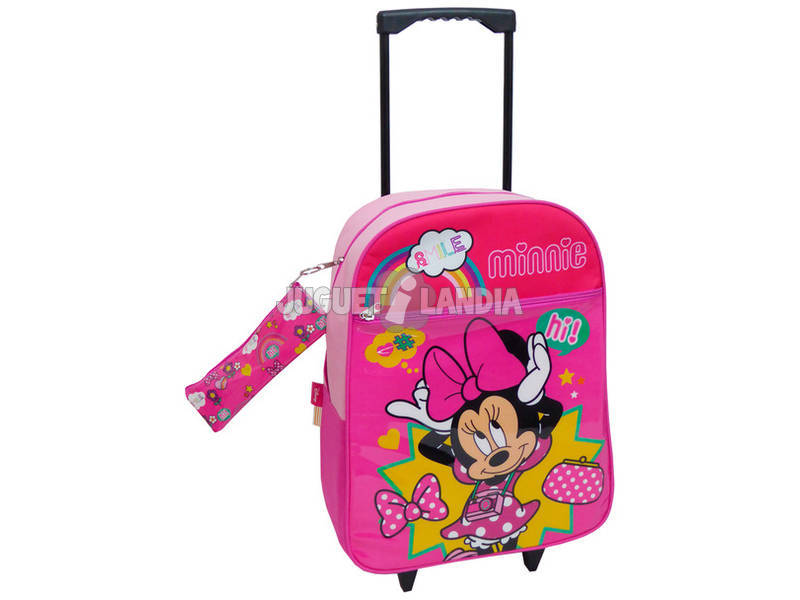 Mochila Trolley Minnie Con Portatodo Toybags T910-073