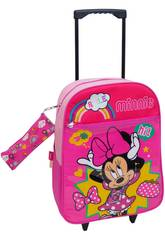 imagen Mochila Trolley Minnie Con Portatodo Toybags T910-073