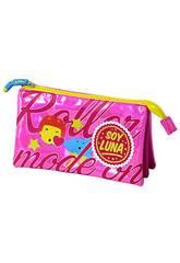 imagen Portatodo Triple Soy Luna Rosa Toybags T157-048