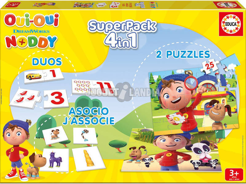Superpack Noddy Francés Educa 17221
