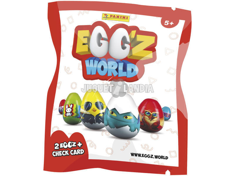 Egg´Z World Sobre con 2 Egg´Z Panini 3826B2E