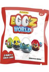 Egg´Z World Envelope avec 2 Egg´Z Panini 3826B2E