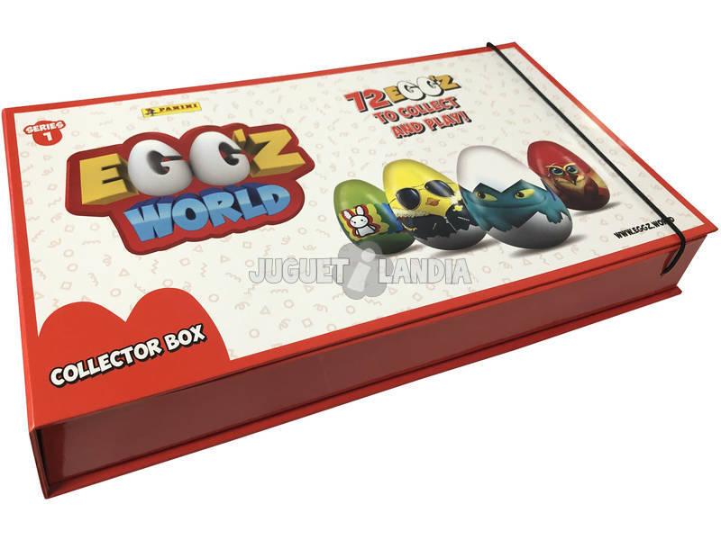 Egg´Z World Caja Colección más dos sobres Panini 3826COLBOX