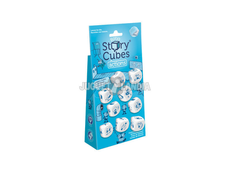Story Cubes Ações Blister Asmodee ASMRSC102ML1