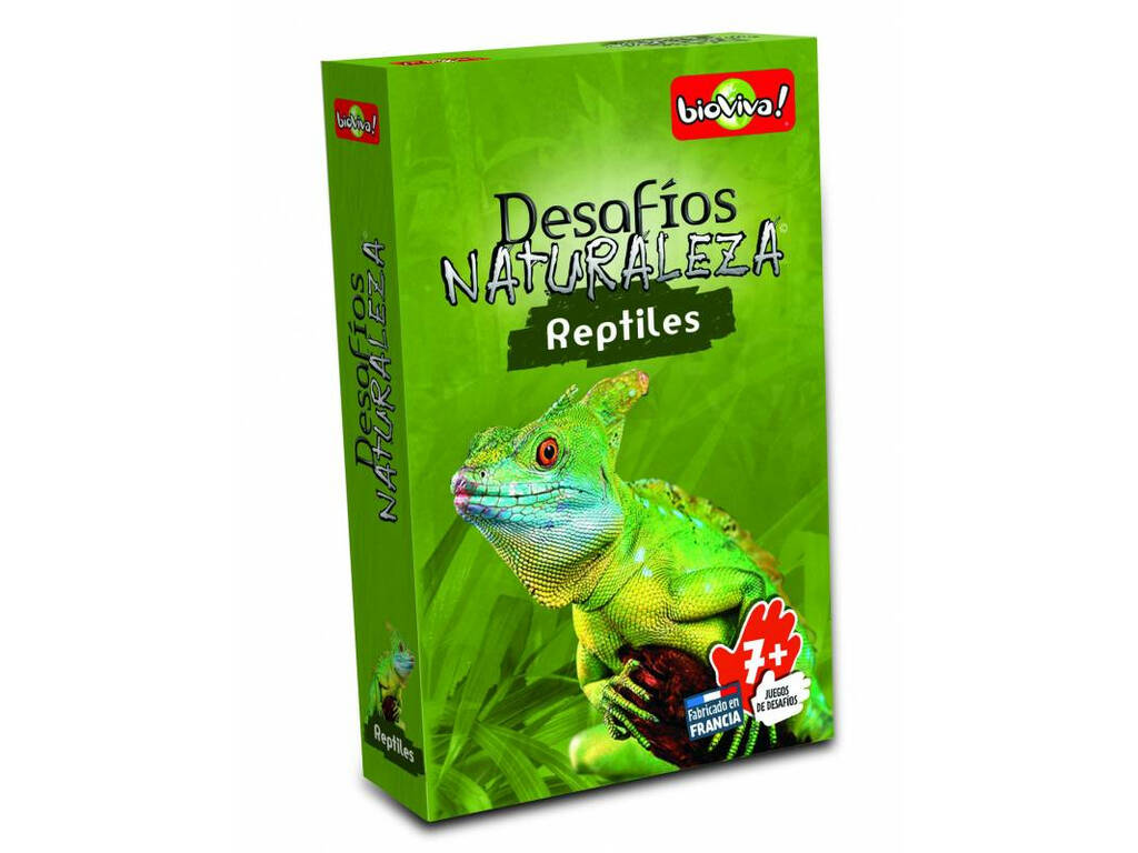 Bioviva Desafios da Natureza Animais Carnívoros Reptiles DES03ES