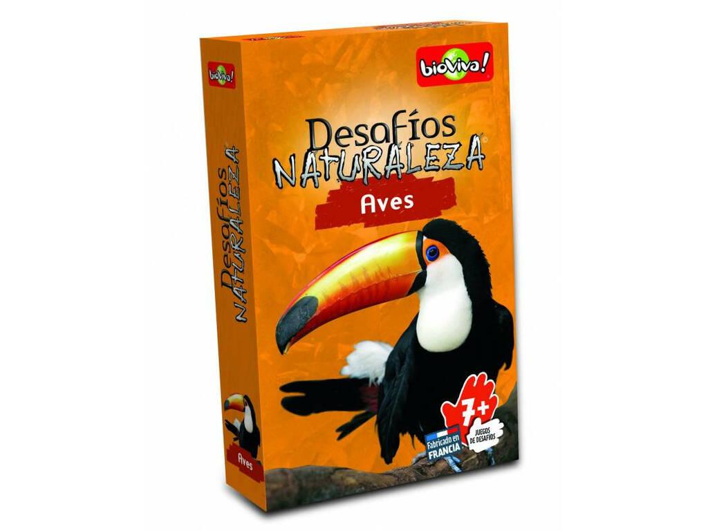 Bioviva Desafíos de la Naturaleza Aves Asmodee DES05ES