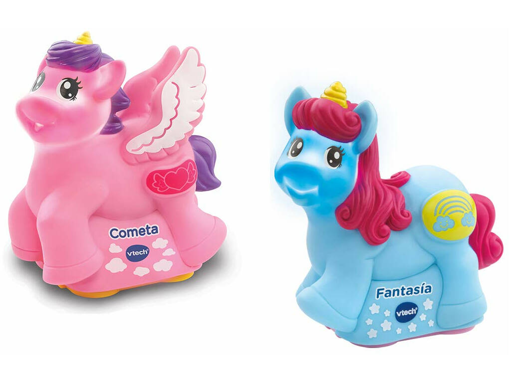 Tut Tut Animals Fantasía Cometa y Fantasía los Unicornios Vtech 408767