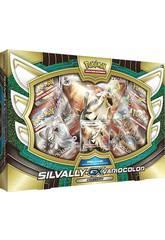 Pokémon Juego de Cartas Coleccionables Caja Silvally-GX Variocolor Asmodee POGX1706