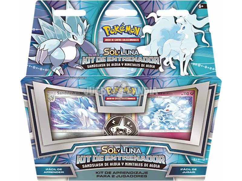 Pokémon Jogo de Cartas Colecionáveis Sol e Lua Kit Treinador Asmod POTK1801