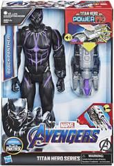 Avengers Figura Black Panther 30 cm. con Cañón Power FX Hasbro E3306