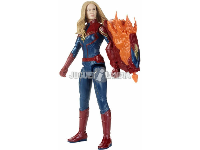 Avengers Capitaine Marvel 30 cm. avec Canon Power FX Hasbro E3307