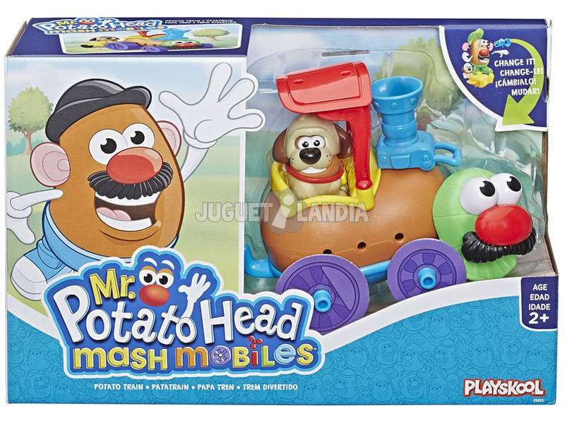 Mr. Potato Tren Potato Hasbro E5853