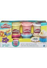 Play-doh Konfetti Pack 6 Dosen Hasbro B3423EU6