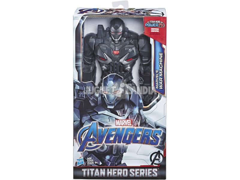 Avengers Figura Titan Hero Deluxe War Machine Hasbro E4017