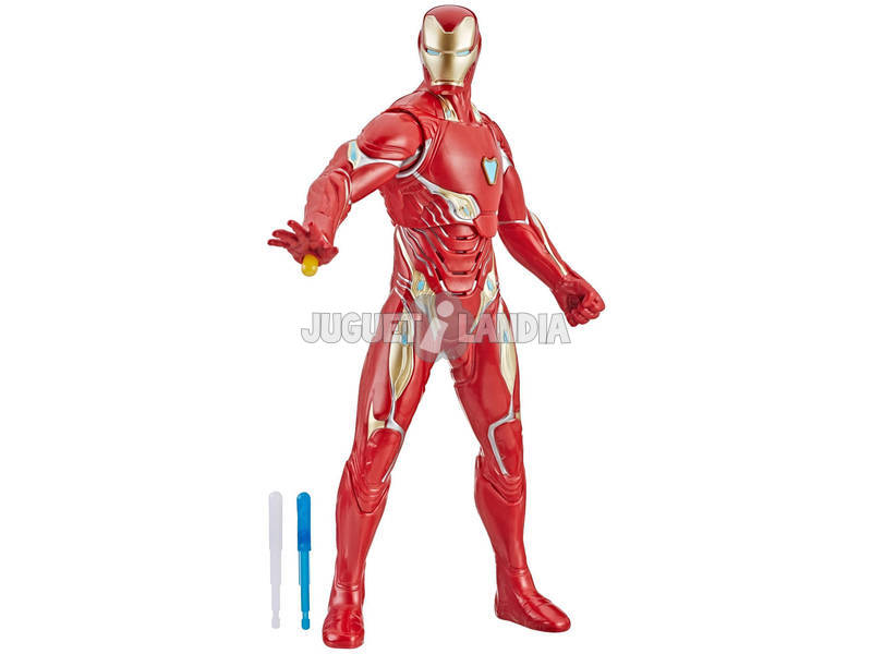 Avengers Iron Man Raio Repulsor 33 cm. Hasbro E4929