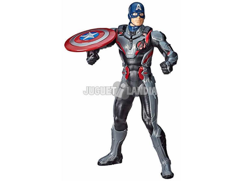 Avengers Figura Electrónica Capitán América Hasbro E3358