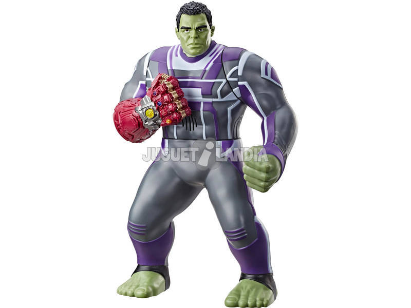 Avengers Figura Eletrónica Hulk Punho Poderoso Hasbro E3313