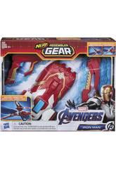 Avengers Nerf Assembler Gear Iron Man Monta y Lanza Hasbro E3354