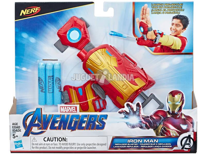 Avengers Nerf Lançador Repulsor Iron Man Hasbro E4394