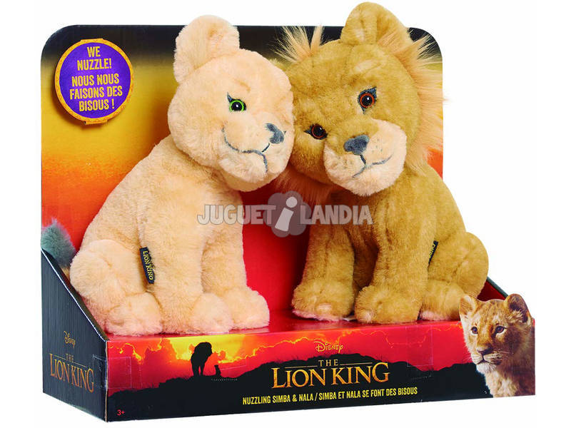 Le Roi Lion en Peluche Simba et Nala Giochi Preziosi LNN02000