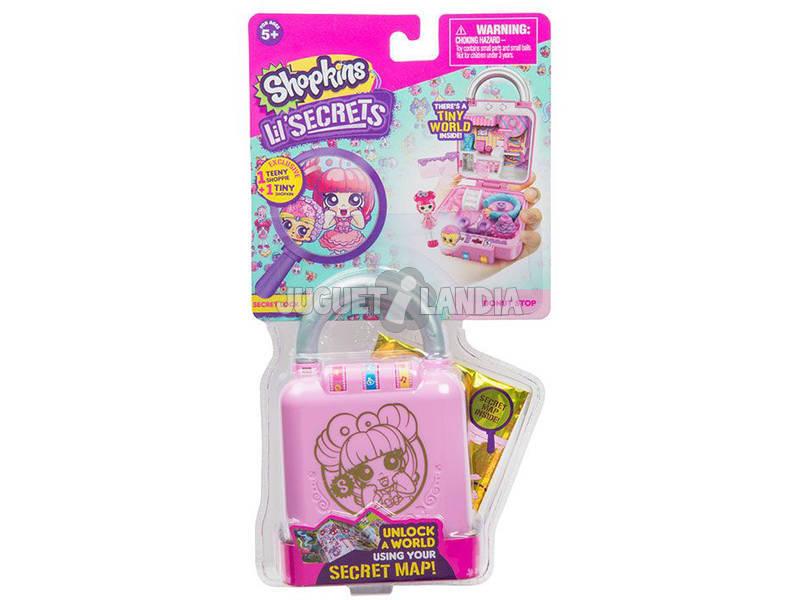 Shopkins Lil Secrets Mini Playset 9 modelli Giochi Preziosi HPL01001