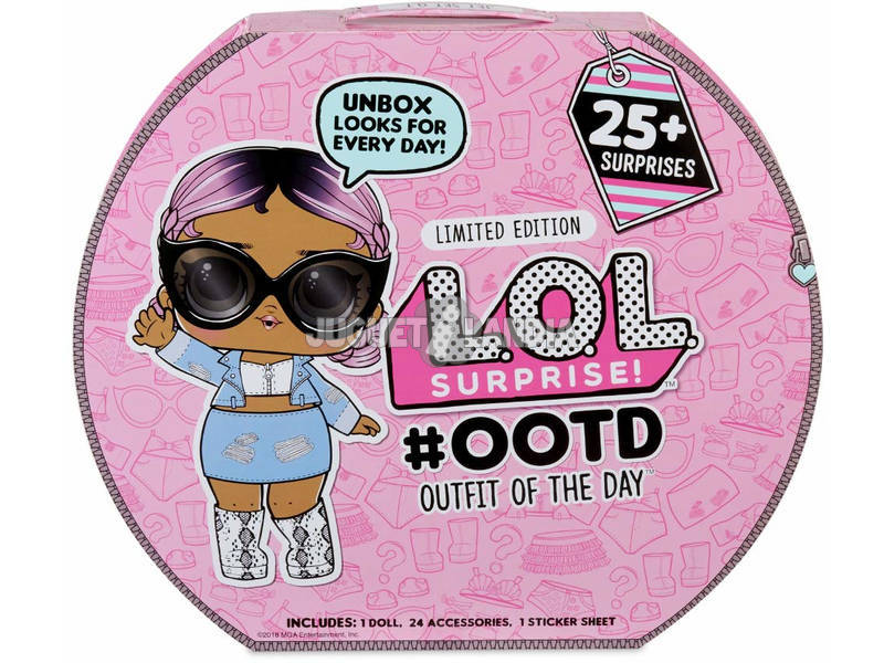 Lol Surprise Outfit Of The Day Com Boneca Exclusiva Giochi Preziosi LLU47000