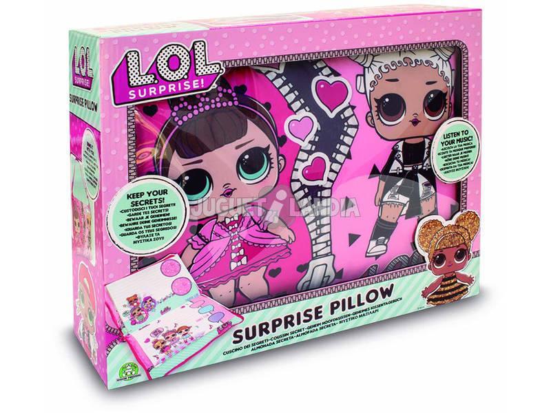 Lol Surprise Secret Pillow Giochi Preziosi LLD10000