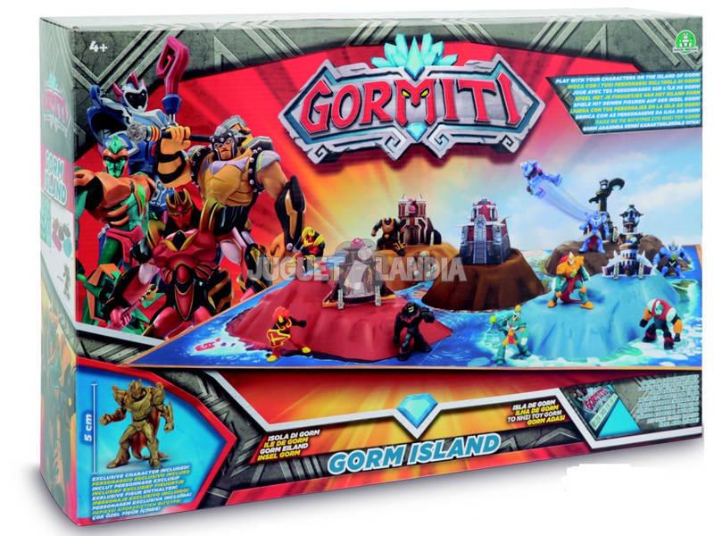 Gormiti Isla De Gorm con Figura Exclusiva Giochi Preziosi GRM08000