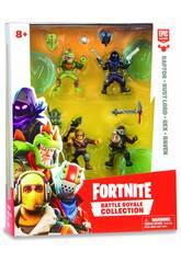 Fortnite Pack 4 Figuras 5 cm. Edición Limitada Giochi Preziosi FRT14000