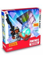 Fortnite Port-A-Port mit einer Infiltrator Figur von Giochi Preziosi FRT15000