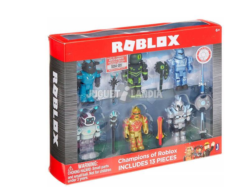 Roblox Multipack 6 Figuras Giochi Preziosi RBL03000