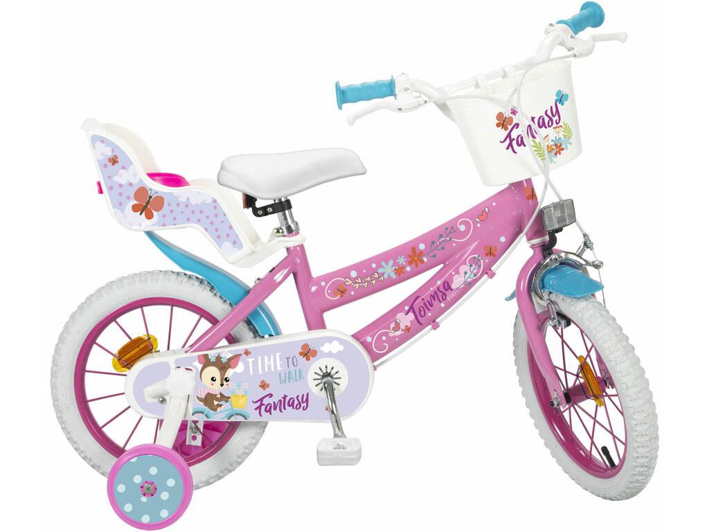 Bicicletta 14 Fantasy Walk Toimsa 14116