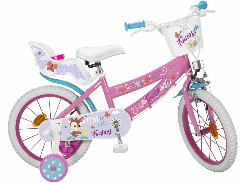 Bicicleta 16 Fantasy Walk Toimsa 16227