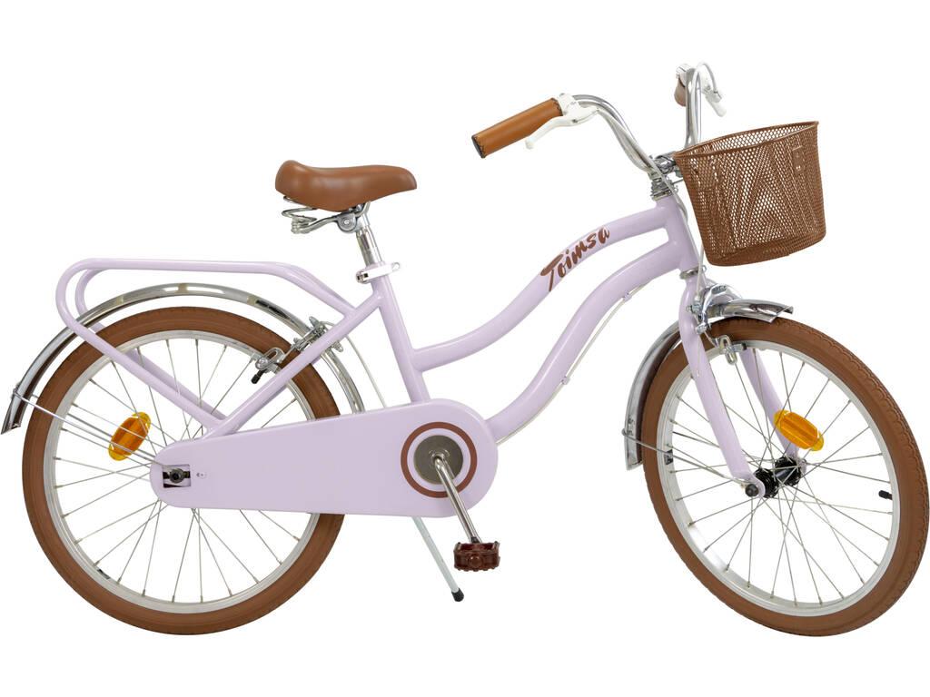 Bicicleta 20 Vintage Rosa Toimsa 20111