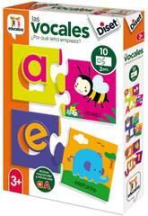 Juegos Educativos 4 Puzzles Form Diset 49242