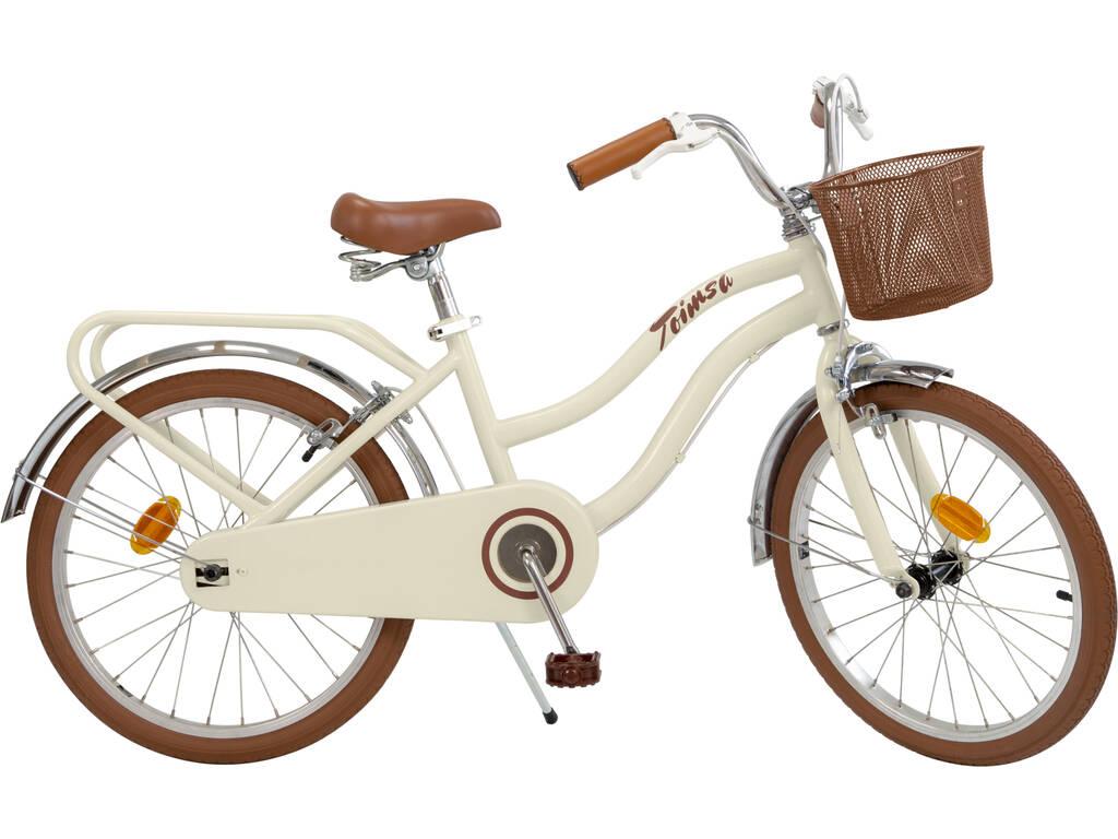 Bicicletta 20 Vintage Beige Toimsa 20113