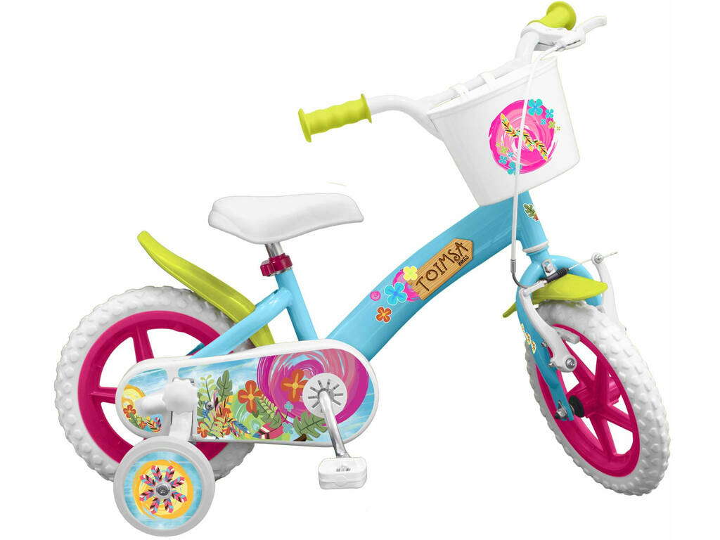 Bicicleta 12 EN71 Flowers Toimsa 12001