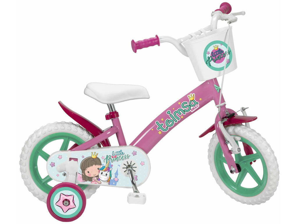 Bicicleta 12 EN71 Little Princess Toimsa 12002