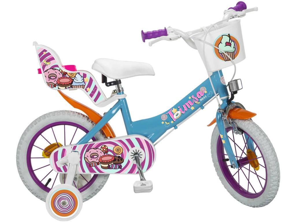 Bicicletta 14 Sweet Fantasy Toimsa 14110