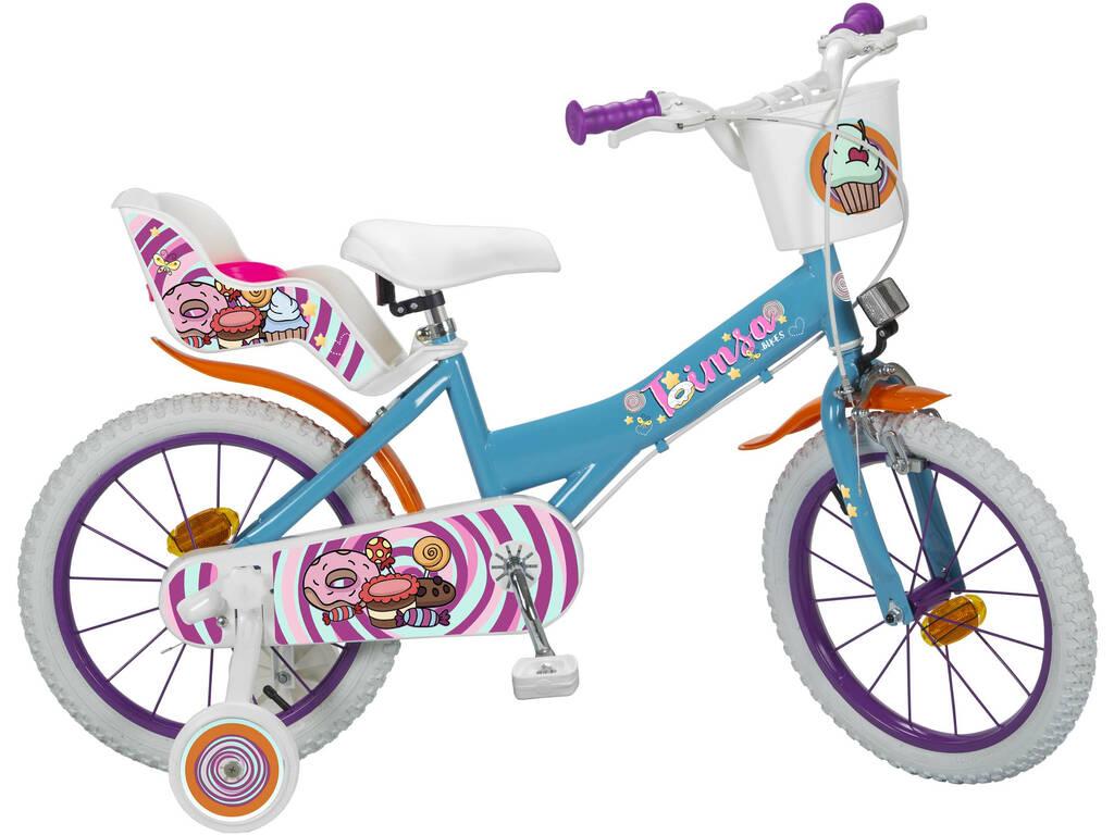Bicicleta 16 Sweet Fantasy Toimsa 16220