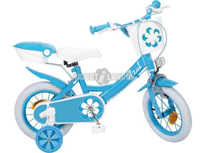 Bicicleta 12 Colors Azul Toimsa 12018