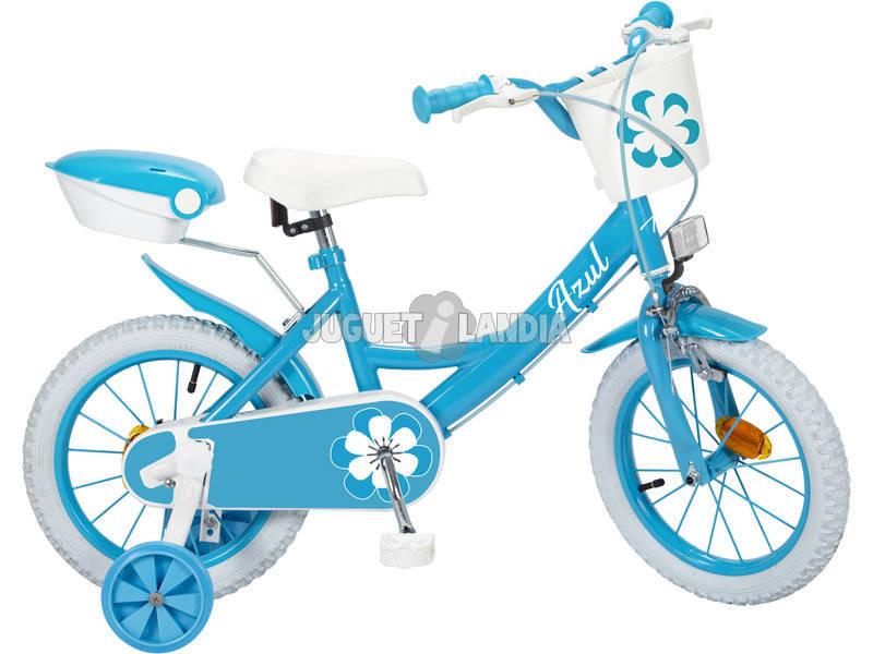 Bicicleta 14 Colors Azul Toimsa 14121