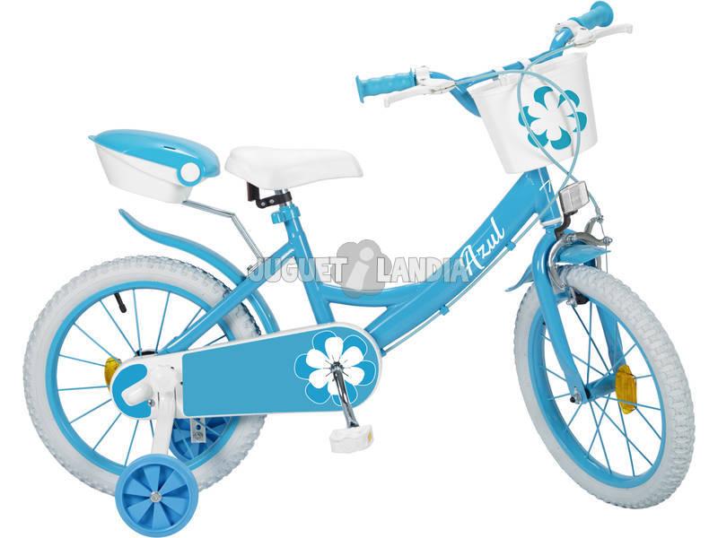 Bicicleta 16 Colors Azul Toimsa 16232