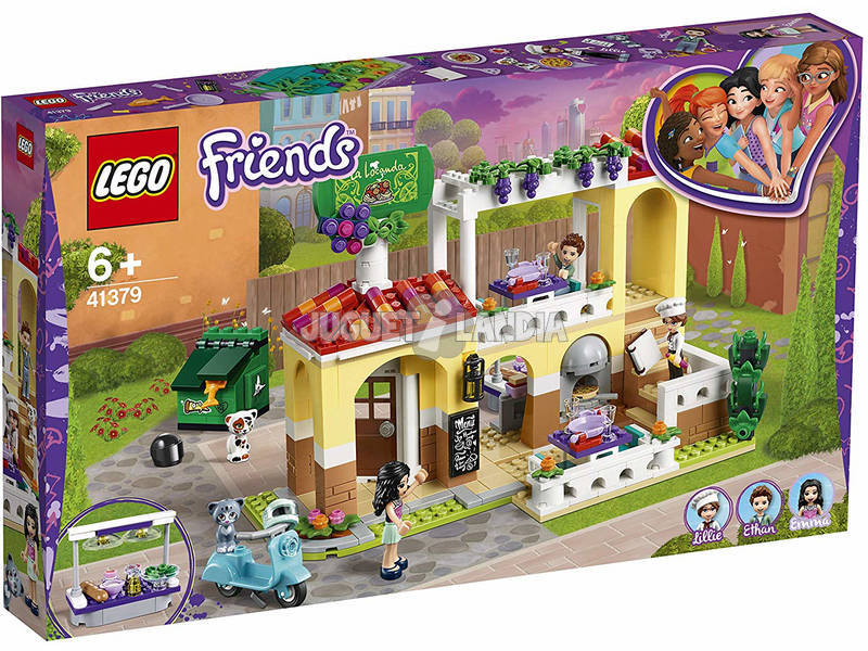 Lego Friends El Restaurante de Heartlake 41379
