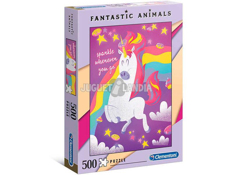 Puzzle 500 Unicorno Clementoni 35066