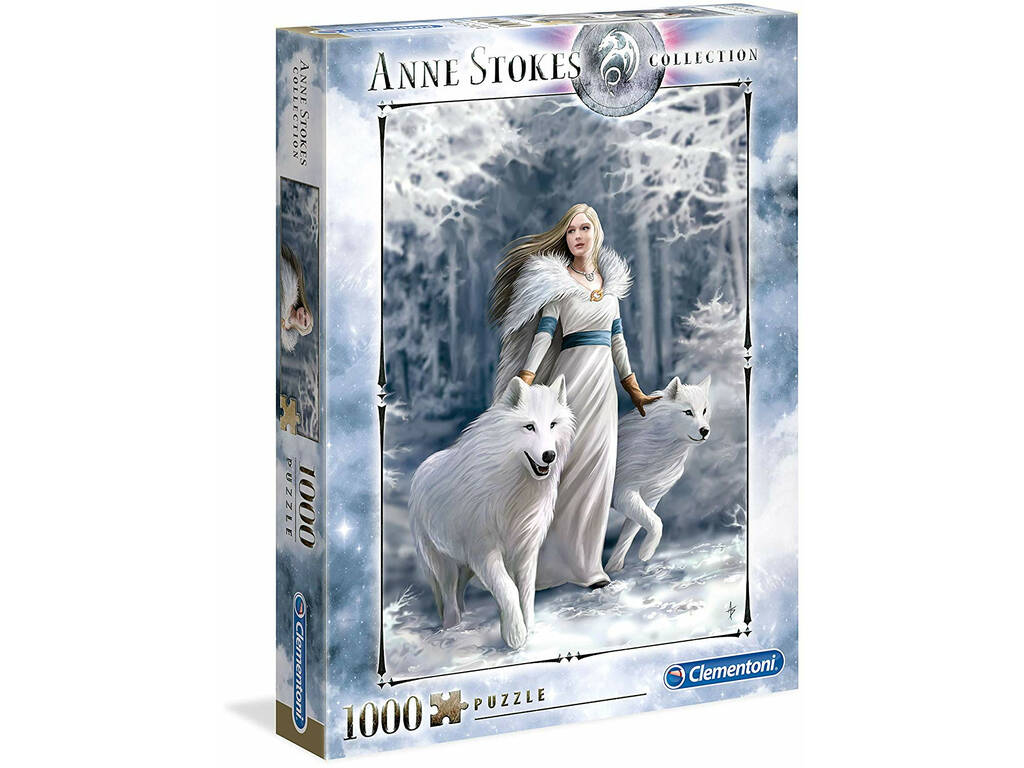 Puzzle 1000 Anne Stokes Winter Guardians Clementoni 39477