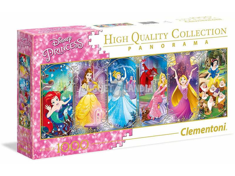 Disney Princess 1000 pezzi Panorama Puzzle Clementoni 39444